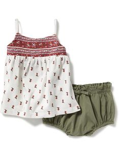 2-Piece Swing Tank and Bloomer Set for Baby  Product Image