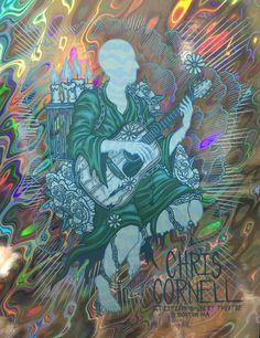 Chris Cornell - Shubert Theater - Oct. 21st, 2015 - Lava Foil  by Jim Mazza