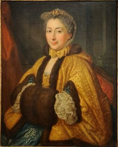 portrait of a w th century by a follower of louis tocque  donatien donotte portrait of a lady 1760