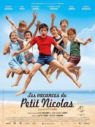"""Le film """"Les vacances du petit Nicolas"""" (A2/B1) FLE activities"""