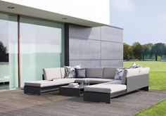 RIVA Lounge - a range of absolute purist lounge furniture for indoor and outdoor use