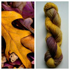 This beautiful hand dyed yarn is available on different yarn bases, it's so gorgeous on Sparkle Sock