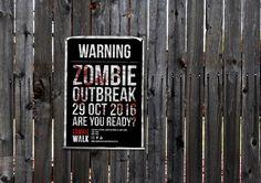 Cape Town Zombie Walk 2016 Poster concept