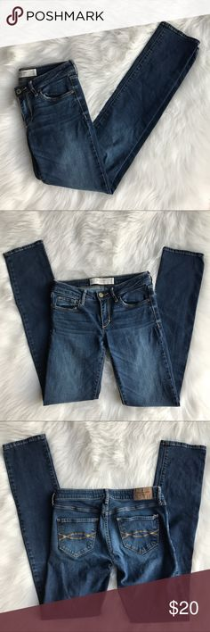 Abercrombie & Fitch Skinny Jeans The A & F Skinny Jeans. Size: OR - W25 L33 Abercrombie & Fitch Jeans Skinny