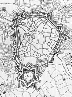 Fortification Complexes, Münster, Germany, 1763