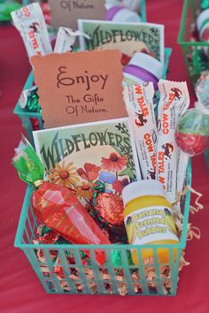 #Farm #Bithday #Party #favors » Blog The Cow Tales are a great addition.