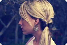 "10 Ponytail Ideas for Prettier ""Mom Hair"" 