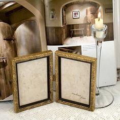 Pale Gold Hinged Double Frame Bridesmaids par mackenzieframes, $38,00