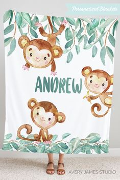 Our personalized minky blankets feel like silk and come personalized with your little one's name. This adorable blanket will become a keepsake that will be treasured for years to come.  Our personalized blankets come in 3 sizes and are perfect for babies and toddlers - kids love them too!  The perfect gift for baby showers and birthdays.  Personalized Baby Blanket, Minky Blanket, Baby Gift Ideas, Baby Shower Gifts, Baby Gift Boy, Nursery Decor Boy Newborn Baby Gifts, Baby Boy Gifts, Gifts For Boys, Baby Shower Gifts, Personalized Gifts For Kids, Personalized Baby Blankets, Customized Gifts, Throw Blanket Size, Minky Blanket
