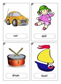 toys flashcards