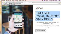 Early landing page design #kisdeal #tech #deals #popup #flash #atomic #localbusiness #startup #design #graphic #apple