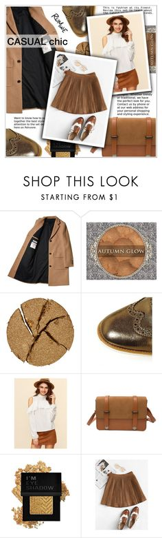 """""""Autumn Casual Chic"""" by shambala-379 ❤ liked on Polyvore featuring Pat McGrath, Moda In Pelle and Forever 21"""