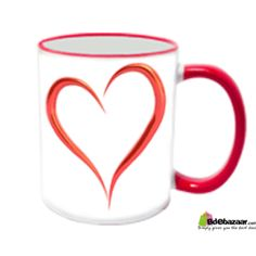 Color Love Mug-01 (Code 50049) সিরামিকের তৈরি হাই কোয়ালিটি ওয়াশেবল প্রিন্ট Color Mug Print your photo on a Color Mug. You can print any text, design or image. You can also wash the mug, it will not effect the color/ print.