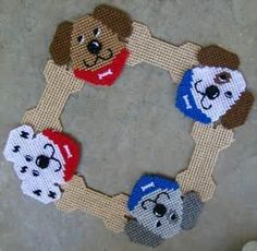 free plastic canvas puppy patterns - Yahoo Search Results