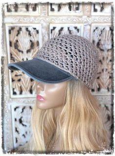 20 Trendy hat for women baseball hair Crochet For Boys, Crochet Hats, Crochet Summer, Hats For Women, Clothes For Women, Boho Hat, Summer Hats, Spring Summer, Cute Hats