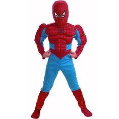 Deluxe Spider-Man Kids Muscle Costume - Kids Costumes...Ben