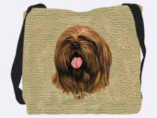 Pure Country Weavers Lhasa Apso Robert May Lap Dog Blanket Throw Woven from Cotton Made in The USA Rough Collie, Reclaimed Wood Furniture, Lhasa Apso, Beige Background, Dog Portraits, Portrait Art, Dog Design, Dog Bed, Pet Care