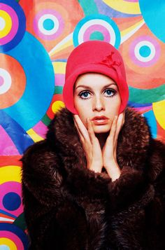 Twiggy the sixties ! Sixties Fashion, Mod Fashion, Fashion Photo, Fashion Models, Vintage Fashion, Gothic Fashion, Biba Fashion, Fashion Music, Fashion Pics