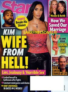 Star Magazine, Jeff Bridges, Julianne Hough, Mind Games, Keith Urban, Cover Pics, Change My Life, For Stars, Jealousy
