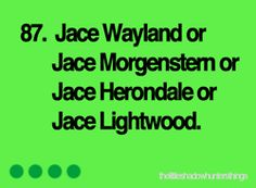 The Little Shadowhunters Things