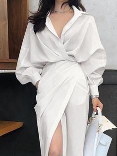 Elegant Midi Dresses, Elegant Outfit, Classy Dress, Classy Outfits, Stylish Outfits, Elegant Fashion Style, Elegant Style Women, Elegance Fashion, Elegant Dresses For Women