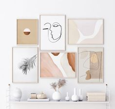 Wall Art Sets, Wall Art Decor, Aesthetic Room Decor, Printable Wall Art, Room Inspiration, Decoration, Home Accessories, Bedroom Decor, Gallery Wall