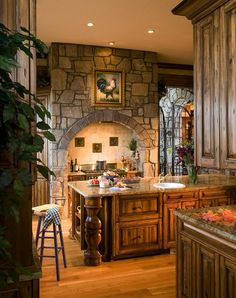 love the rustic