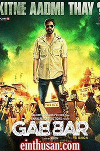Gabbar Is Back Hindi Movie Online - Akshay Kumar, Shruti Haasan, Suman Talwar, Jaideep Ahlawat and Sunil Grover. Directed by Krish. Music by Chirantan Bhatt. 2015[U/A] w.eng.subs