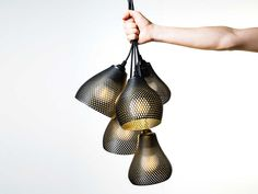 The Rumbles - Collection of 3D Printed Pendant Lamps