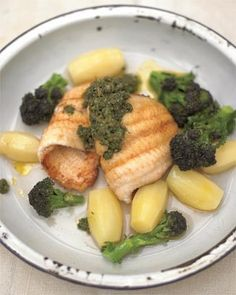 pan-fried lemon sole fillets with salsa verde food-and-drink http://top-golf-courses.info/blue.php