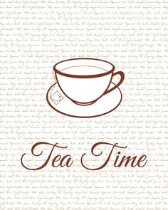 I want a simple line drawing of the cup and saucer as a teeny tiny tattoo behind my ear or on my hipbone.