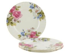 Gracie Bone China 7-1/2-Inch Dessert Plate, Pink Grace's Rose, Set of 4 by Gracie Bone China by Coastline Imports. Save 27 Off!. $36.60. 4 Dessert plates 7-1/2-inch. Bone China. Dishwasher safe. Not safe in microwave. Pink grace's rose. Gracie Bone China by Coastline Imports is lovely for entertaining, holidays and special occasions. Gracie Bone China is elegant, affordable and sure to dress up your dining table or tea party. Four Dessert Plates, 7-1/2-Inch in our Pink Grace's Rose pattern.