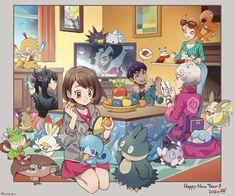Pokemon Happy New Year 2020 Pokemon Comics, Pokemon Memes, Pokemon Fan Art, Pokemon Ships, Pokemon Alola, Pokemon Fusion, Pokemon Cards, Kawaii, Pokemon Waifu