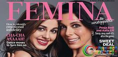 POOJA BEDI AND DAUGHTER AALIA SPICE UP THE FEMINA COVER!  #Bollywoodnazar #PoojaBedi