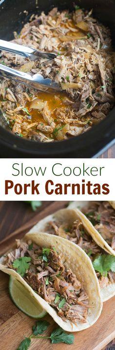 Slow Cooker Pork Carnitas | Tastes Better From Scratch