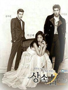 "Fan art for upcoming #Kdrama - Lee Min Ho ♡ #Kdrama - ""Heirs"" / ""The Inheritors""with Park Shin Hye and Kim Woo Bin"