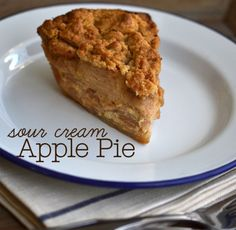 Gluten-Free Sour Cream Apple Pie with Crumble Topping