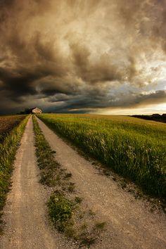 Country Road by Nicolai Bönig on 500px    ..rh