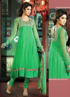 Classy Green Salwar Kameez