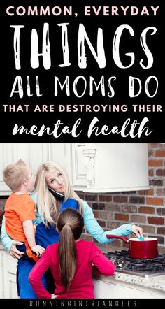 These common, everyday things that mothers are guilty of doing can actually harm their mental health and contribute to symptoms of depression or anxiety. Mental Health Advocate, Good Mental Health, Mental Health Quotes, Depression Symptoms, Postpartum Depression, Gentle Parenting, Parenting Advice, Negative People, Self Care Activities
