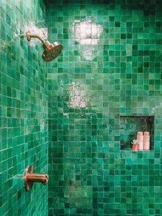 ideas bathroom black shower tile ideas for 2019 Mold In Bathroom, Small Bathroom, Master Bathroom, Bathtub, Bathroom Showers, Bathroom Black, Bathroom Cabinets, Bathroom Ideas, Green Bathroom Tiles