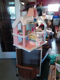 Doll house storage Dolls, Storage, Bed, House, Furniture, Home Decor, Baby Dolls, Purse Storage, Decoration Home