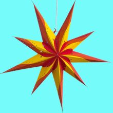 Hometown Evolution Inc Green Obsession Star Wide Single Light Plug-In Paper Lantern Paper Star Lights, Paper Star Lanterns, Paper Stars, Star Lamp, Falling From The Sky, Genoa, Night Skies, Swirls, Night Light