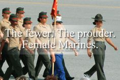 Female marines! That might be my platoon actually! lol My drill instructor looks so awesome! SSgt Thompson!