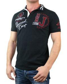 Redbridge by Cipo & Baxx Herren Polo Shirt 8967 R-1624, schwarz