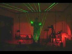 Laser Harp using Arduino technology!
