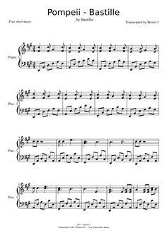 bastille things chords