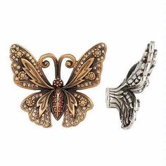 Edgar Berebi Butterfly Knob 8184 :: Hardware Cabinet Hardware from Home & Stone