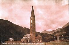 Church of S. Gallo : the first documentary mention dates back to from the 50 '. Church History, Old Postcards, San Francisco Ferry, Documentary, Dates, Culture, Building, Travel, Viajes