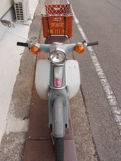 Honda Cub, Vintage Japanese, Cubs, Vintage Cars, Motorcycle, Places, Life, Beauty, Motorbikes